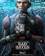 Star Wars The Bad Batch Echo posterLA