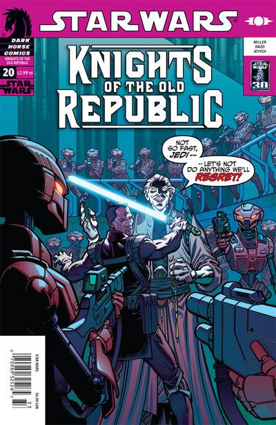 Caballeros de la Antigua República 20: Bruma de odio, parte 2