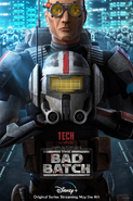 Star Wars The Bad Batch Tech poster