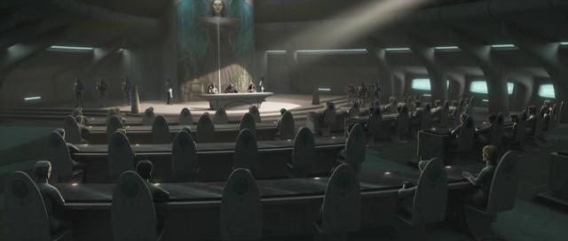 Conferencia de Refugiados en Alderaan