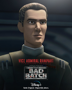 Star Wars The Bad Batch Rampart posterLA