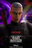 Star Wars The Bad Batch Crosshair poster 2
