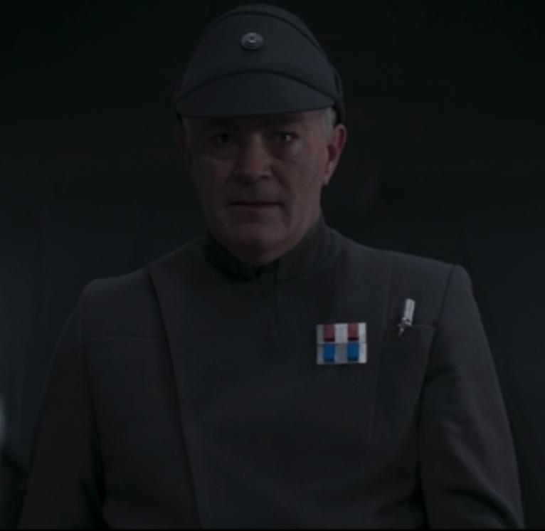 Oficial de cubierta Imperial no identificado (Trask)