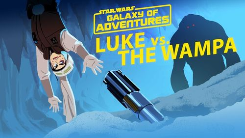 Luke vs el Wampa: Escape de la Caverna