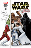 Star Wars Marvel 2015 Jaxxon Variant