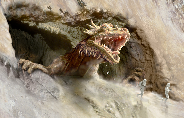Dragón krayt del cañón/Leyendas