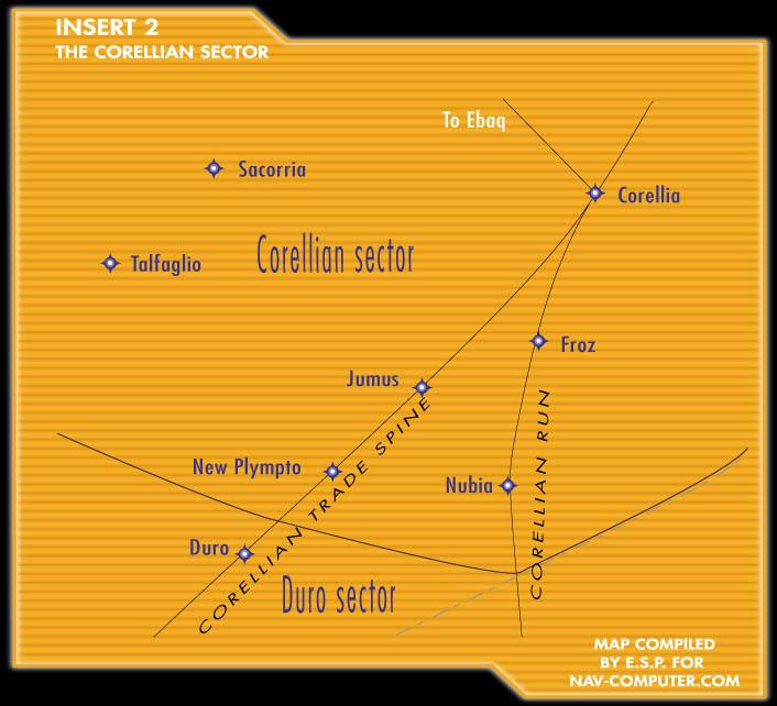 Sector Corelliano/Leyendas