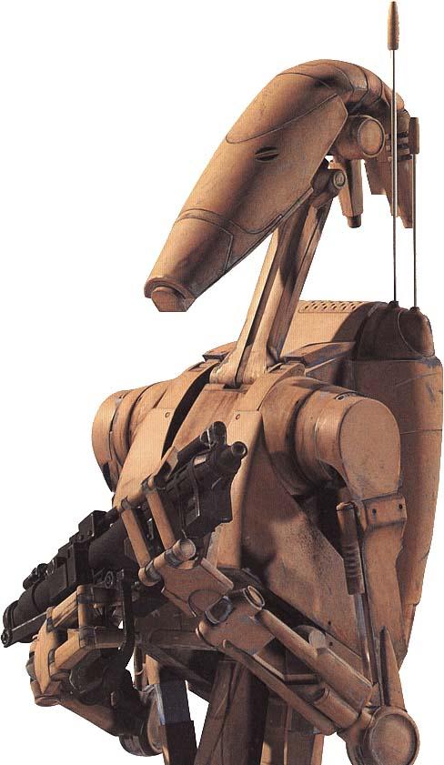 Droide de combate B1/Leyendas