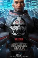 Star Wars The Bad Batch Wrecker posterES