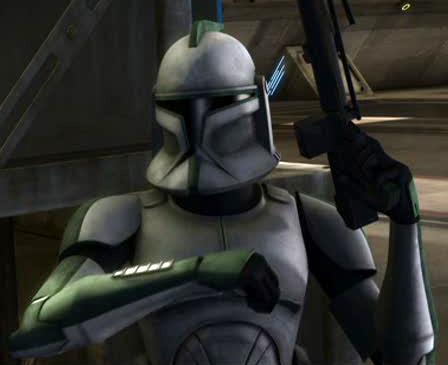 Líder Verde (soldado clon)/Leyendas