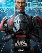 Star Wars The Bad Batch Crosshair poster