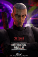 Star Wars The Bad Batch Crosshair poster 2ES