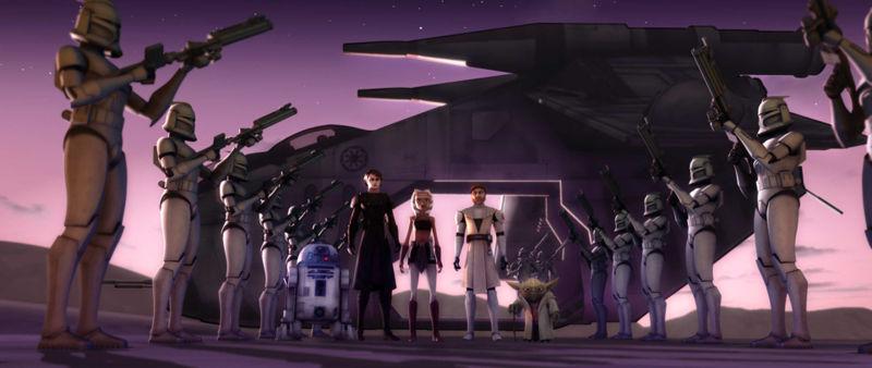 Misión al Palacio de Jabba (Guerras Clon)/Leyendas