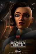 Star Wars The Bad Batch Rafa Martez posterES