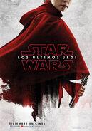 Daisy Ridley Rey Los Últimos Jedi Poster Teaser