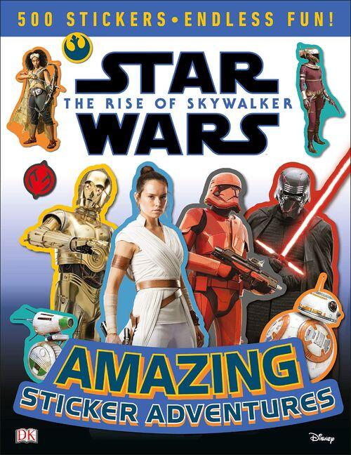 Star Wars: The Rise of Skywalker: Amazing Sticker Adventures