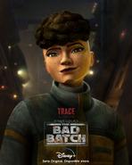 Star Wars The Bad Batch Trace Martez posterLA