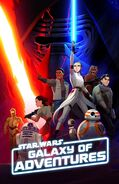 Star Wars Galaxy of Adventures poster 2