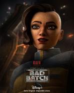 Star Wars The Bad Batch Rafa Martez posterLA