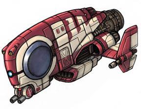 Nave de carga droide Ycaqt
