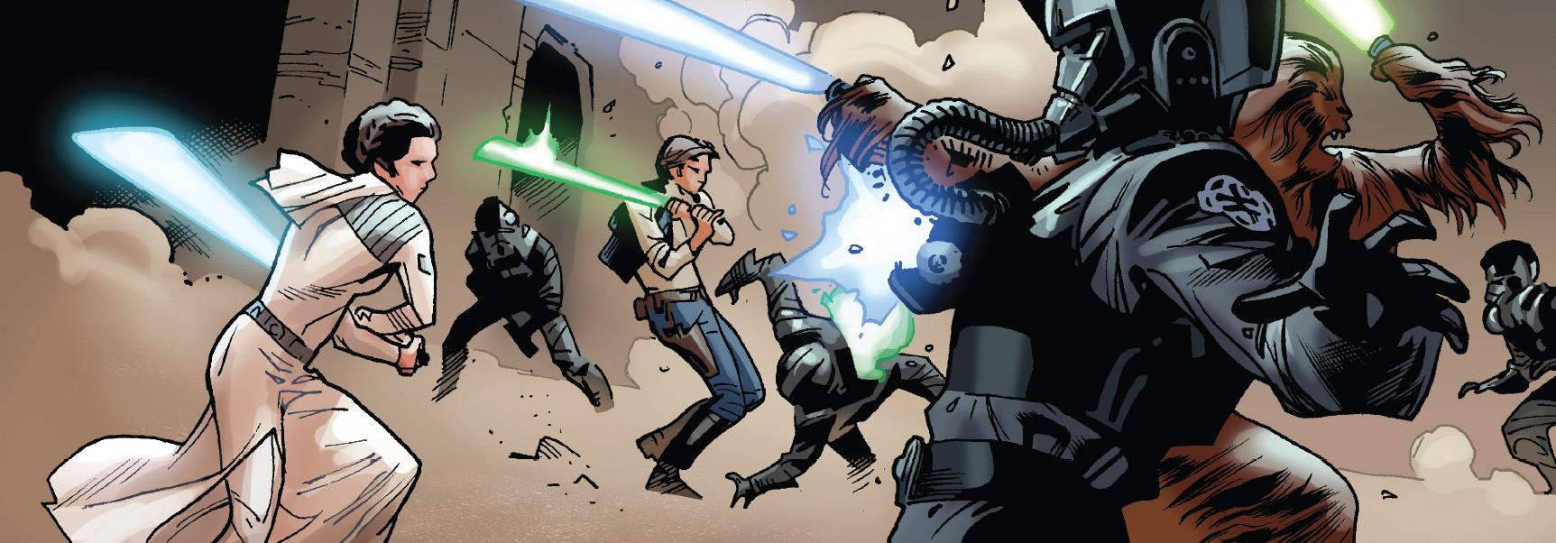 Rescate de Luke Skywalker