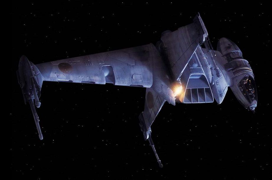 Caza estelar A/SF-01 Ala-B/Leyendas