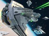 Nave de batalla clase Halcón Estelar