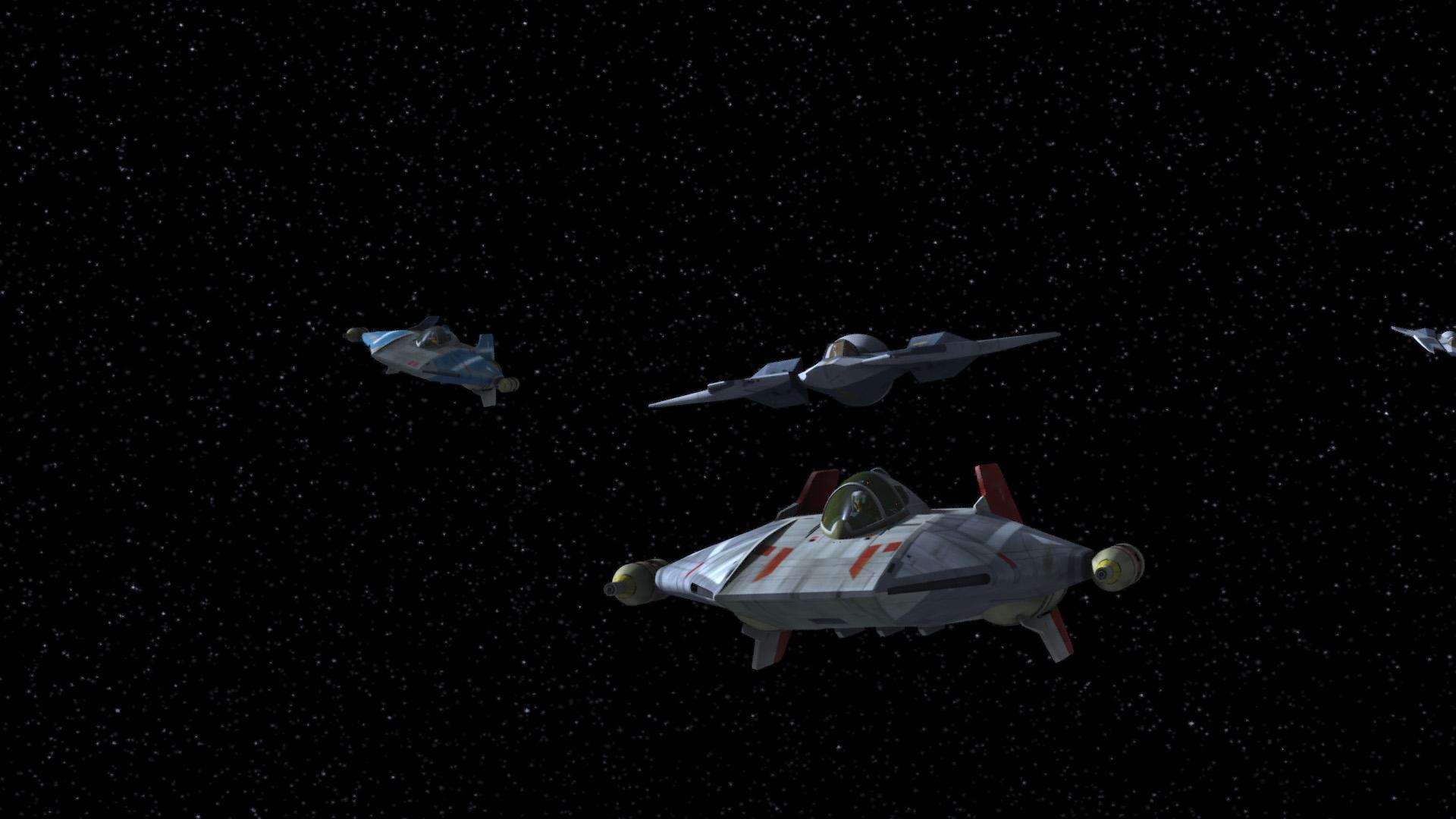 Combate aéreo sobre Concord Dawn