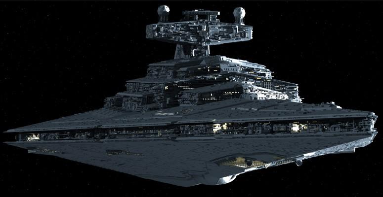 Destructor Estelar clase Imperial II/Leyendas