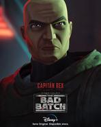Star Wars The Bad Batch Rex posterLA