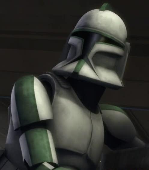 Soldado clon no identificado de la Compañía Verde