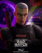 Star Wars The Bad Batch Crosshair poster 2LA
