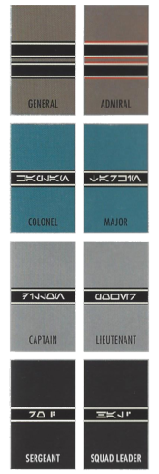 Insignia de rango de la Primera Orden