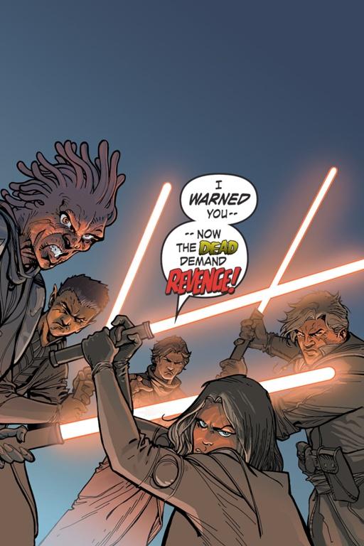 Star Wars: Caballeros de la Antigua República: Noches de ira