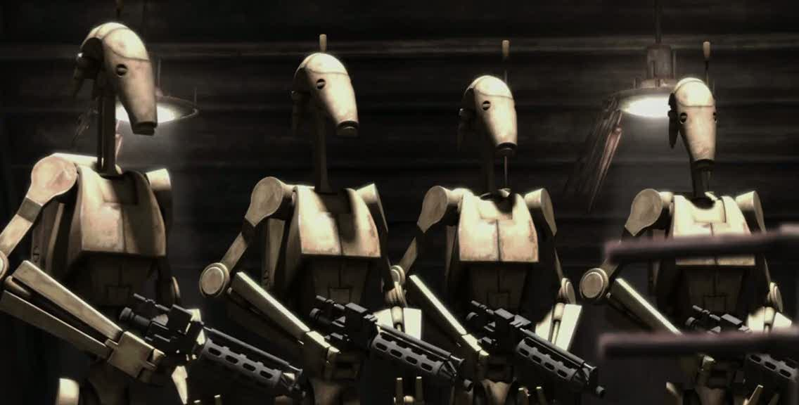 Teniente droide B1 no identificado (tercera luna de Vassek)