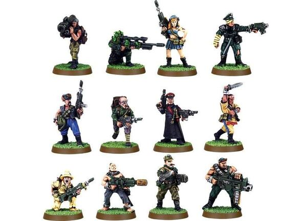 13ª Legión Penal Última Oportunidad 3ª Edición miniaturas