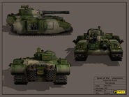 Warhammer 40k dawn winter conceptart xib0k