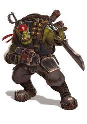 Orko comando clan hacha sangrienta