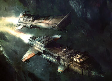Nave de Asalto Shark Bombardero Starhawk Flota Imperial Wikihammer