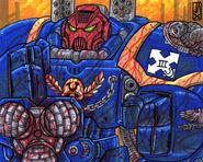 Centurion Asalto Ultramarines Arma de Asedio