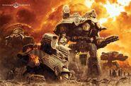 Titanes legio Astorum batalla beta garmon