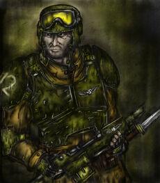 Soldado de Cadia (!)