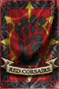 Corsarios Rojos Estandarte