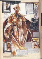 Emperador John Blanche boceto
