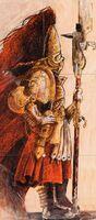 Adeptus custodes custodio por john blanche
