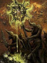 Caos demonios nurgle portadores de plaga