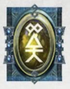 Simbolo eldar runa guardian espectral