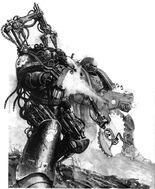 Marines espaciales Manos de hierro