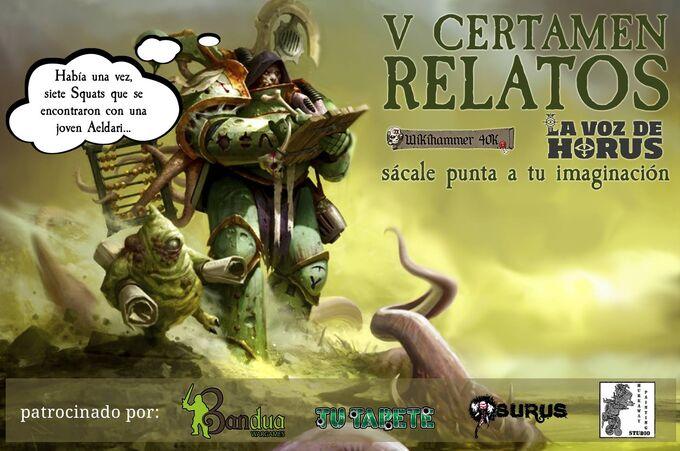 Certamen relatos 40k Fantasy Voz Horus Wikihammer.jpg