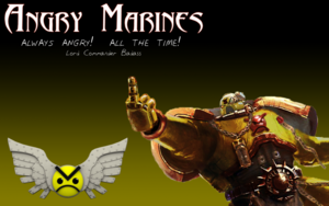 Always Angry Wikihammer 40K